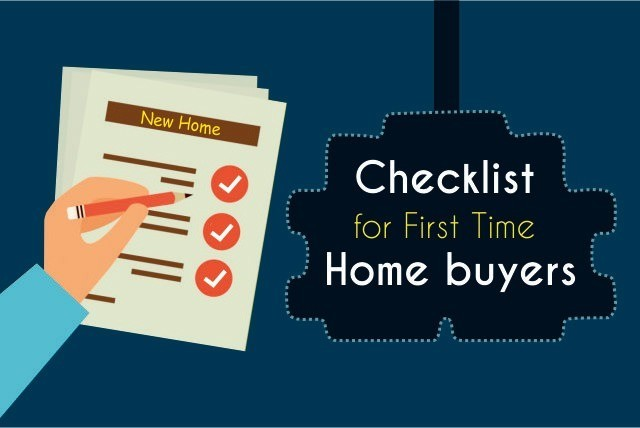 Checklist for first time home buyer